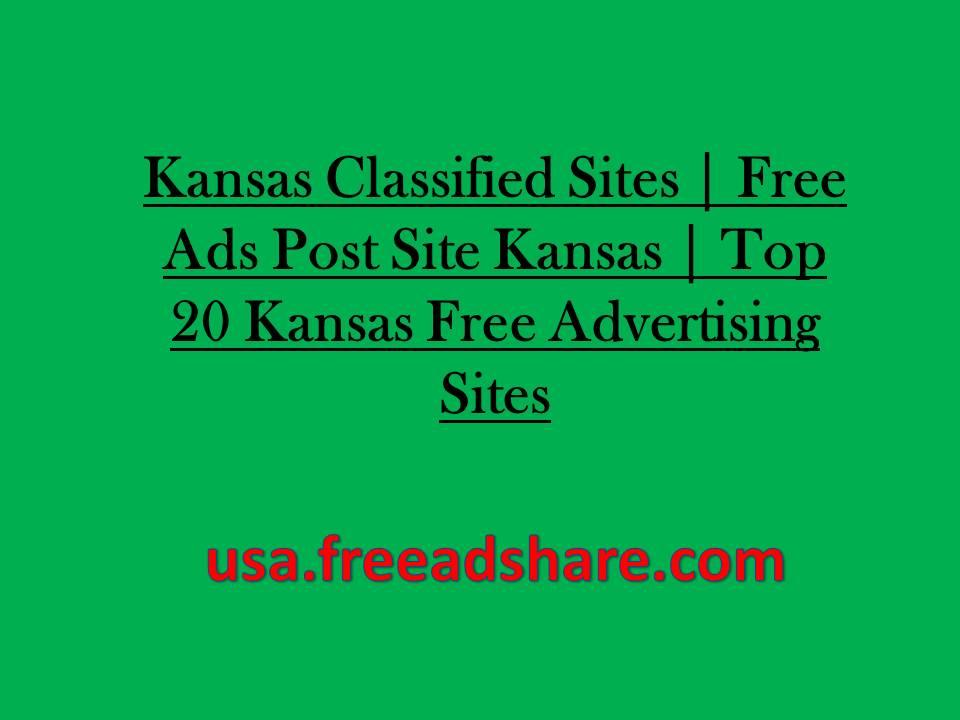 Kansas Classified Sites 2018   Free Ads Post Site Kansas   Top 20