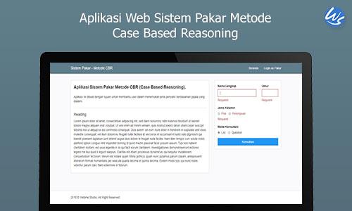 Aplikasi Web Sistem Pakar Metode Case Based Reasoning