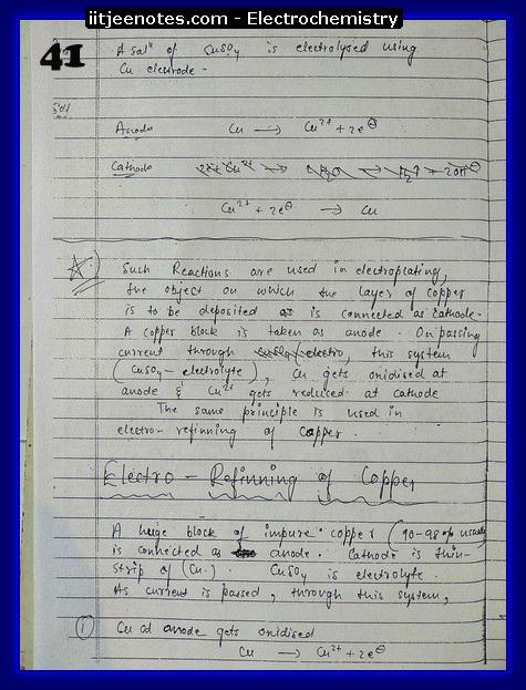 Electrochemistry Notes IITJEE11