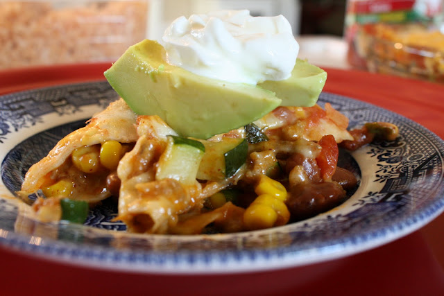 homemade Mexican food