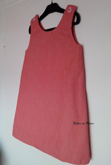 DIY Robe enfant simple (couture)