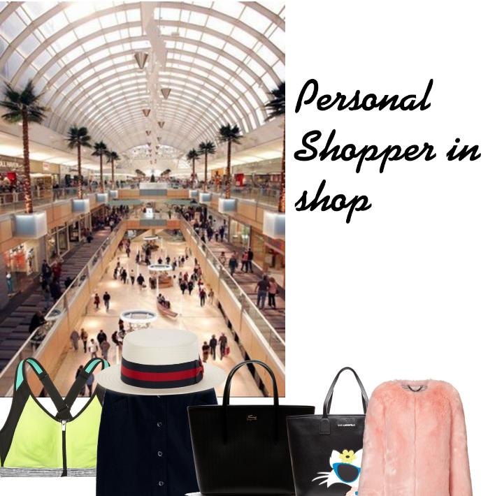 Personal Shopper in  shop .  Personal Shopper w sklepie