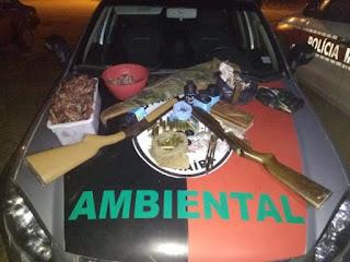 Batalhão Ambiental apreende pássaros, armas e aplica multas de mais de R$ 80 mil na PB