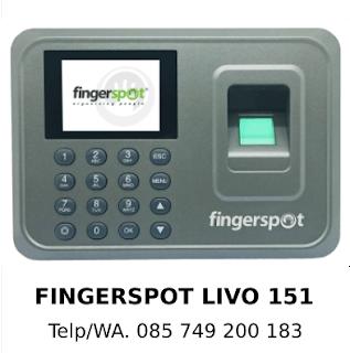 Supplier Mesin Absensi Fingerspot Livo 151 Murah Berkualitas