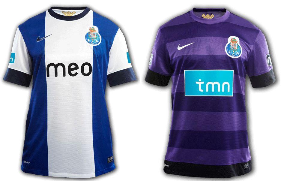 e6b2c0beb8 Para concluir a colecção dos novos equipamentos dos três grandes do futebol  português