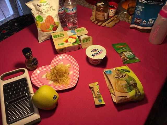 video e articolo sugli snack