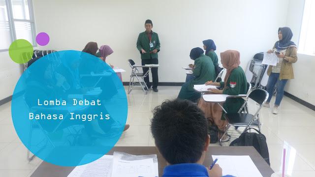 Lomba Debat Bahasa Inggris Bulan Agustus - September 2017 (English Debate Competition)