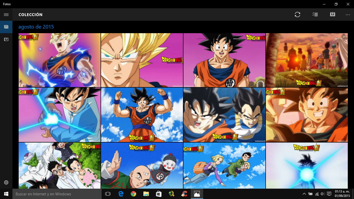 Multi Anime Dragon Ball Super Wallpapers Pack 3