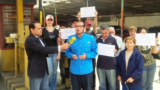 Vecinos de Caracas protestan contra nueva embestida de expropiaciones