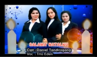 Lagu Natal Toraja Terbaru Salama' Natalku (Trio Ednen)