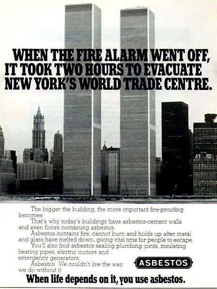 bytes asbestos, the twin towers and 9 11asbestos, the twin towers and 9 11