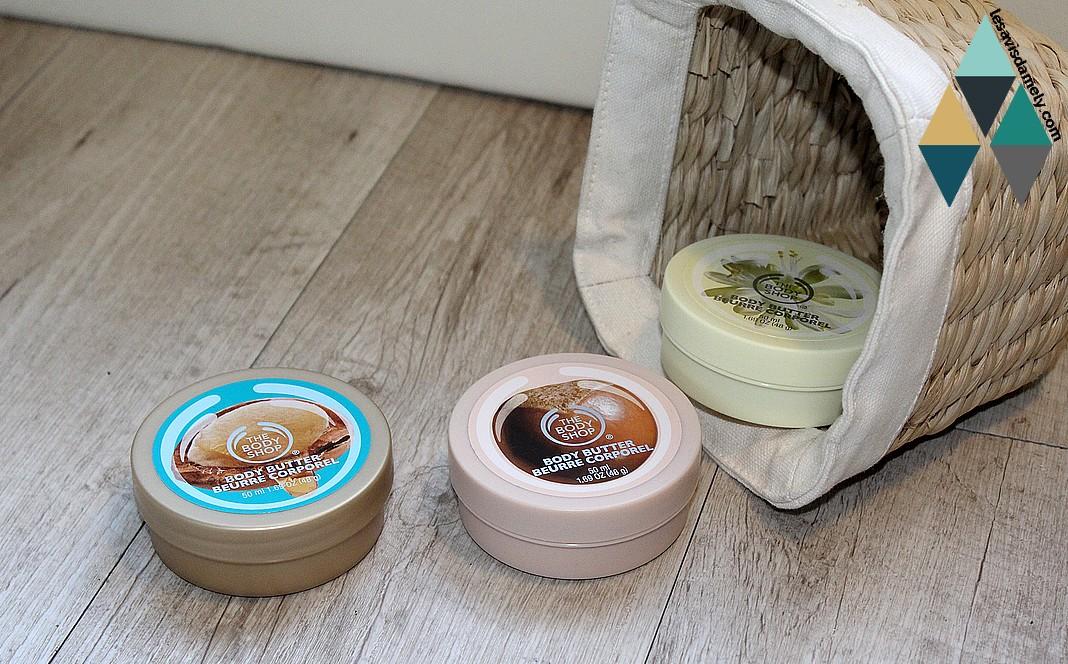 hydrater sa peau sèche avec beurre corporel
