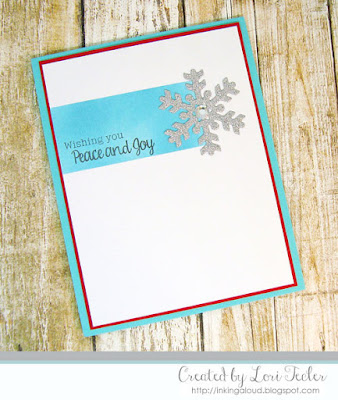 Wishing You Peace & Joy card-designed by Lori Tecler/Inking Aloud-stamps from SugarPea Designs