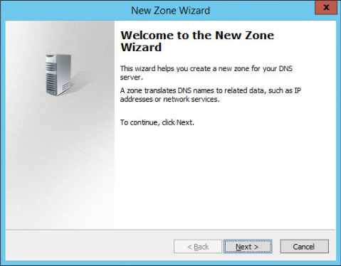 Figure 3: Step 3 of migrating a Linux BIND name server to a Windows Server DNS server.