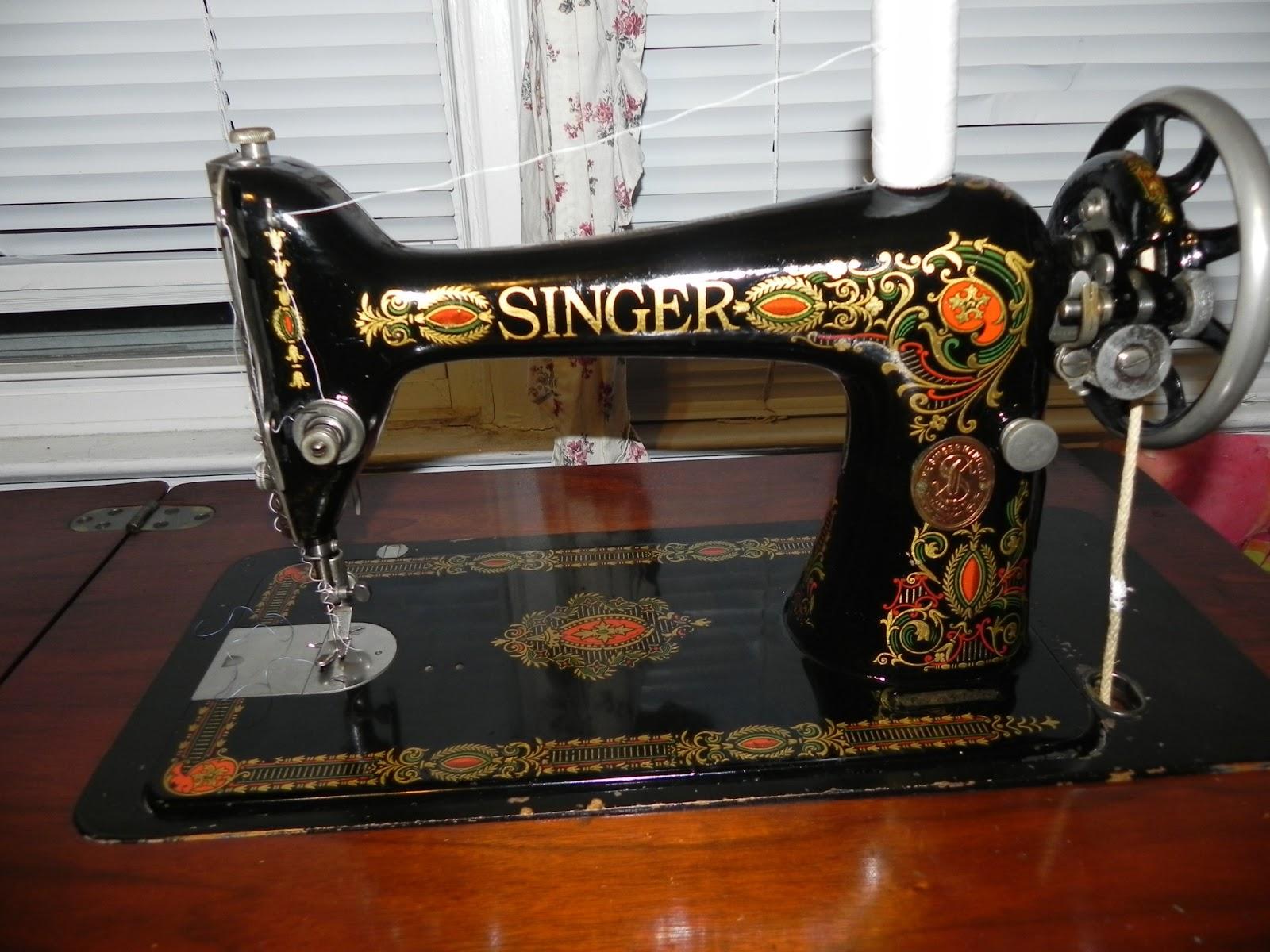 vintage singer red eye jpg 1080x810