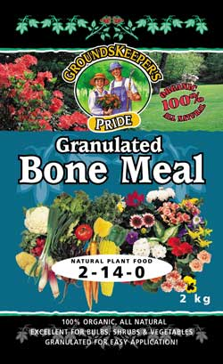 bone meal to keep squirrels out of plants