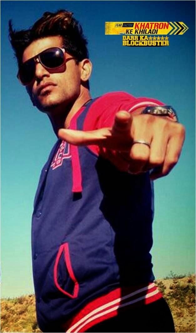 Karanvir Bohra in Fear Factor Khatron Ke Khiladi