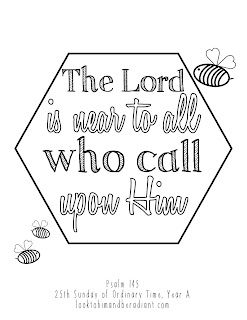 click here for the full size psalm coloring pages for september - Psalm 8 Coloring Page