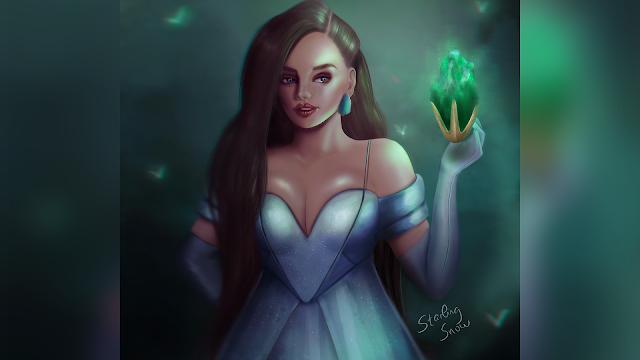Emerald | Birthstone Series | Digital Painting Art