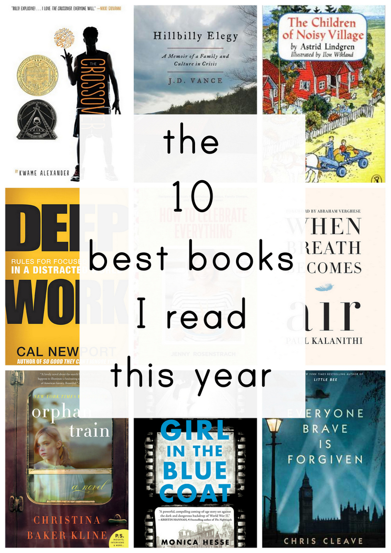 Looking for some new titles to start off the year? These are ten fantastic books!