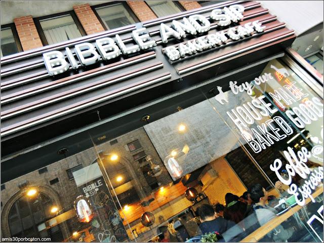 Bibble & Sip en Nueva York