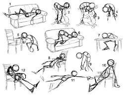poses drawing exhausted pose figure animation reference character sketches gesture base body drawings tired draw seated anatoref stick basic google