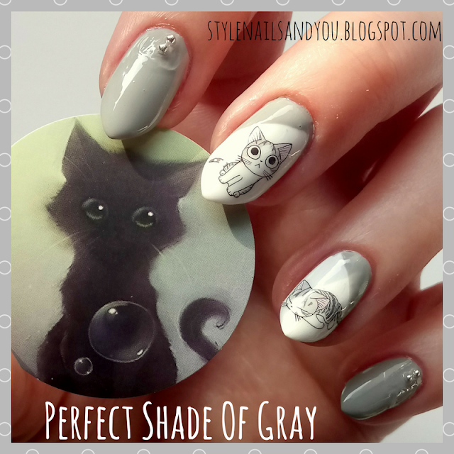 Perfect Shade Of Gray | Steel Beads Nail Studs Wheel | BeautyBigBang Review