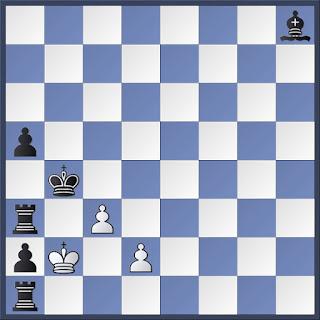 Problema de ajedrez retrógrado de J. J. Mortensen - Ajedrez argentino – 1976 - MATE EN 1