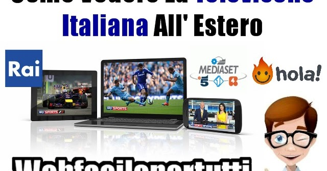 Come vedere tutta la televisone italiana all 39 estero for Camera dei deputati diretta streaming
