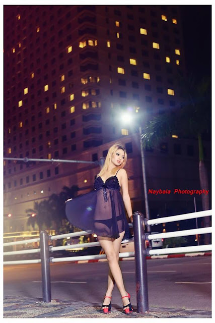 Night Out Fashion With Dolly Myat Noe