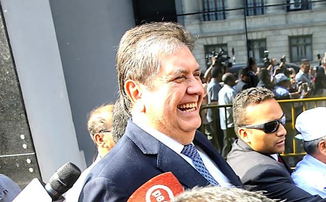 Abren investigación sobre presunta interceptación telefónica al exmandatario Alan García