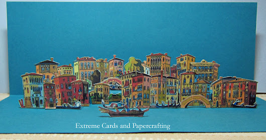 Extreme Cards and Papercrafting: Venice Pop Up Card