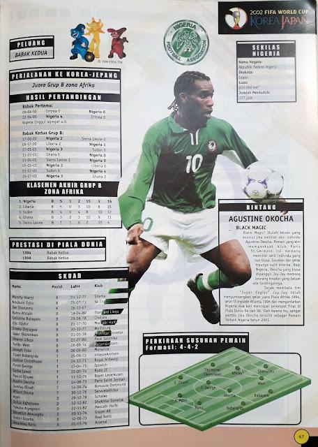 BINTANG NIGERIA AGUSTINE OKOCHA