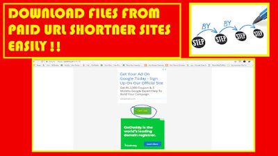 How To Download From Paid Shortlink Sites