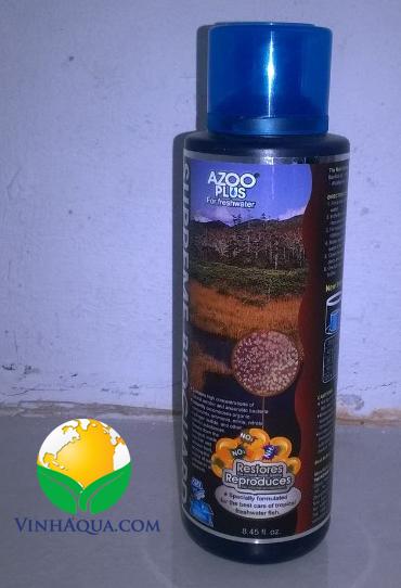 Dung dịch bổ sung vi sinh Azoo Plus cho hồ thủy sinh