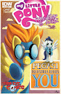 My Little Pony Friendship is Magic #1 Comic Cover Third Eye Variant