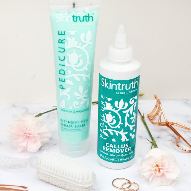Skintruth Pedicure Range Review - Callus Remover and Heel Balm