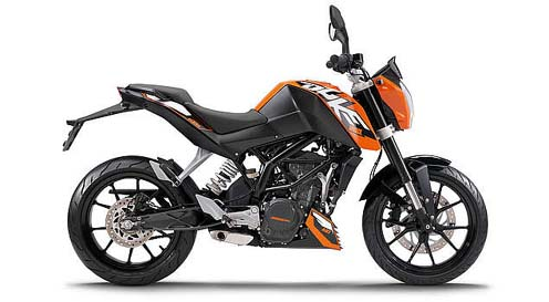 KTM 200 Duke Concept and Mileage