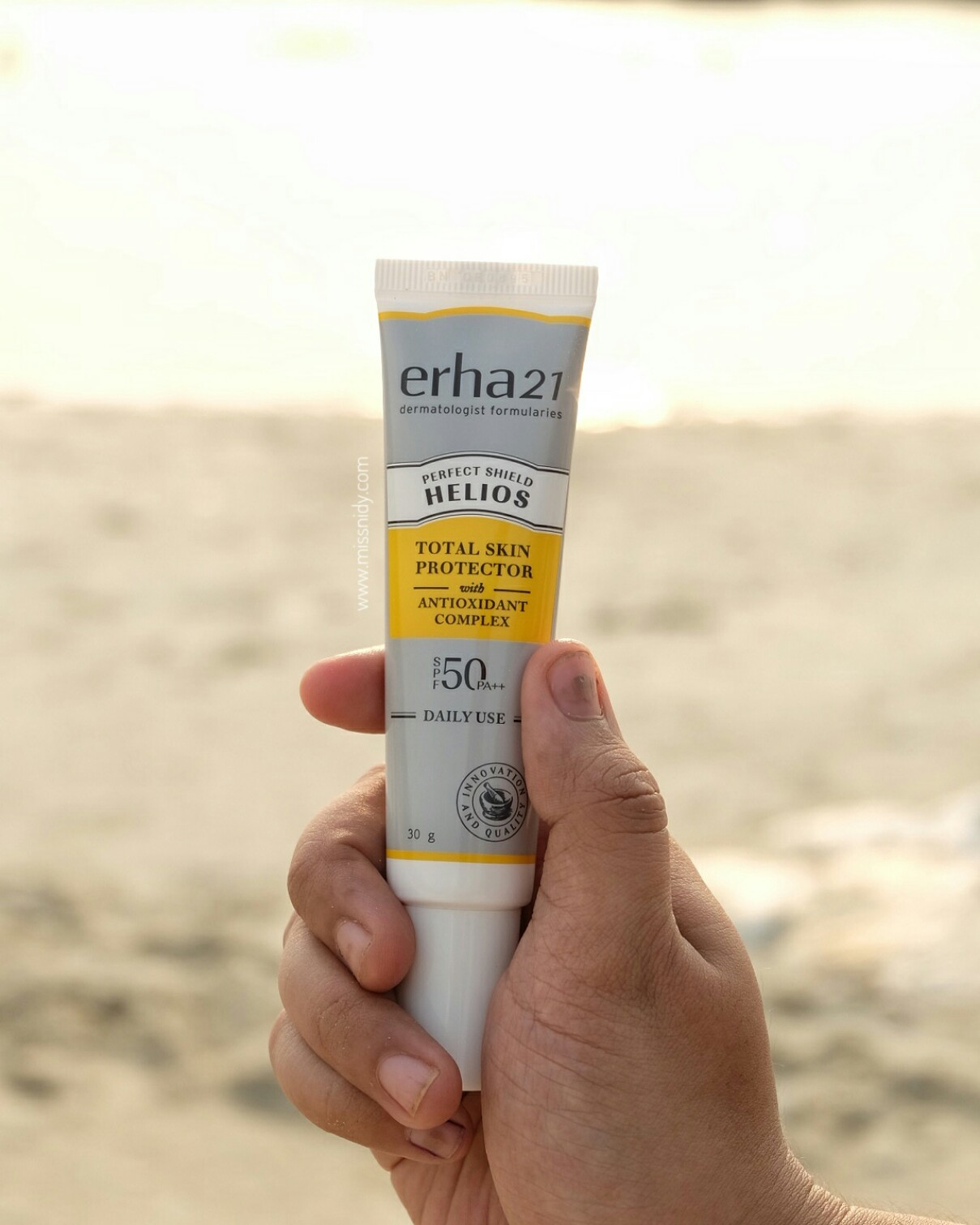 helios daily use sun protection review