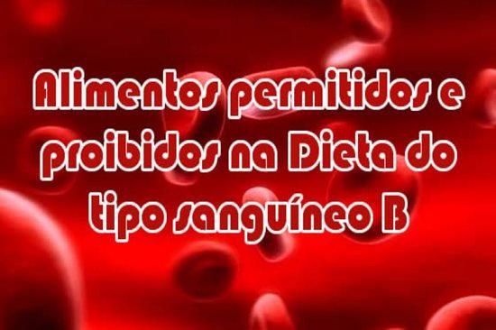 sangue tipo o dieta