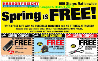 Harbor Freight coupons march 2017