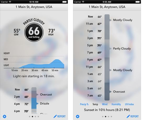 Best Weather App for iPhone/iPad 2016