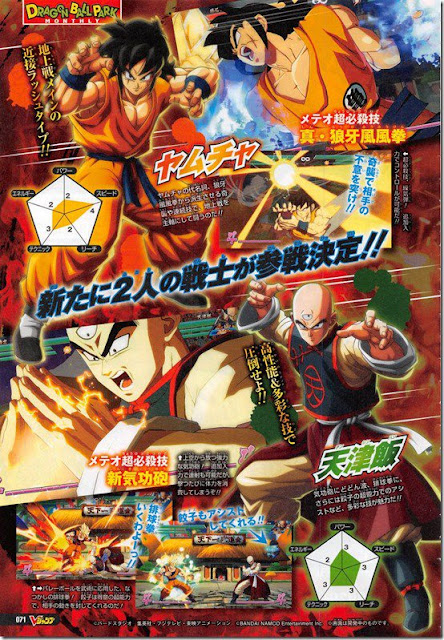 Dragon Ball FighterZ Tien