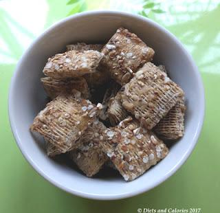 40g Shredded Wheat Multigrain (in a rice bowl)