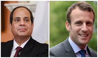 French President Emile MacRon to meet President Sisi on Oct. 24