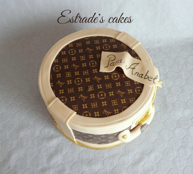 Tarta neceser de Louis Vuitton 2