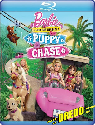 Barbie And Her Sisters In A Puppy Chase 2016 Dual Audio BRRip 480p 250mb