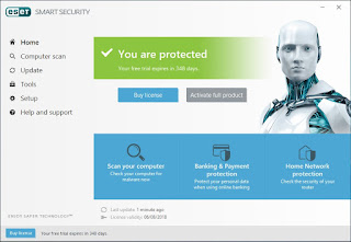 Key ESET Smart Security 10 Selama 1 Tahun