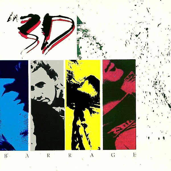 IN 3-D - Barrage (1987) front
