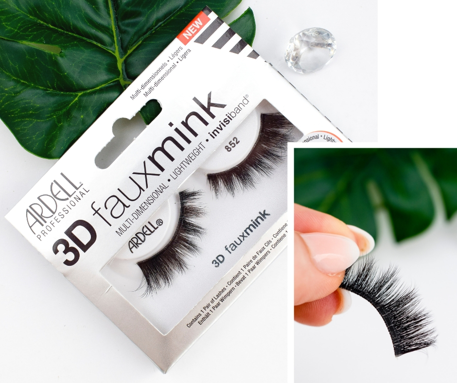 Ardell 3D Faux Mink 852 Test und Erfahrung, künstliche Wimpern